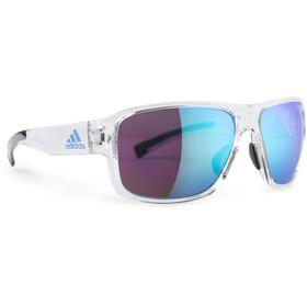 adidas Jaysor AD20 Sonnenbrille crystal shiny/shiny blue